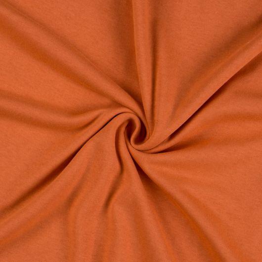 Jersey prostěradlo jednolůžko 120x200cm terrakota