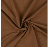 Jersey prostěradlo jednolůžko 120x200cm tmavě hnědé