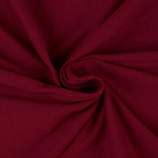 Jersey prostěradlo jednolůžko 120x200cm vínové