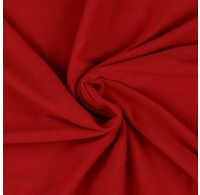 Jersey prostěradlo jednolůžko 80x200cm červené