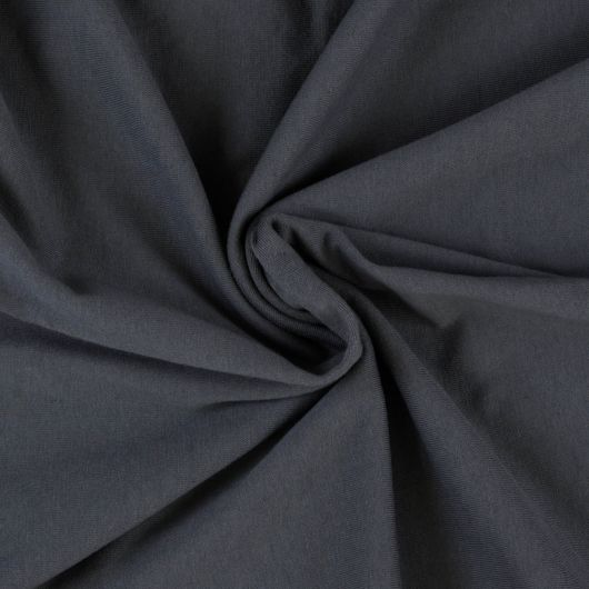Jersey prostěradlo jednolůžko 80x200cm tmavě šedé