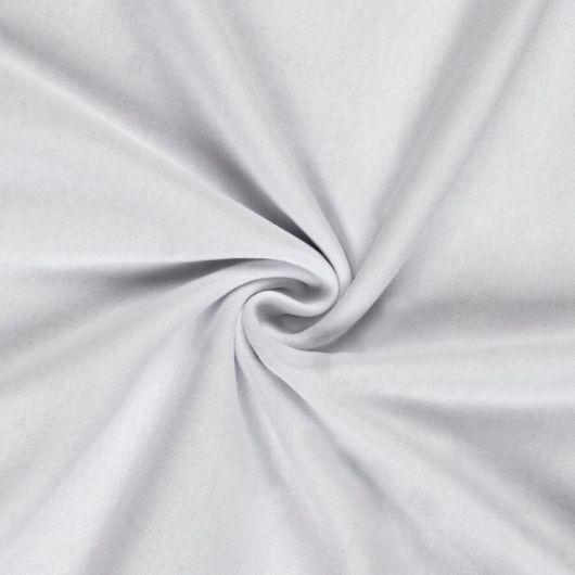 Jersey prostěradlo jednolůžko 90x200cm bílé