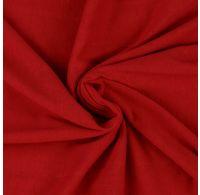 Jersey prostěradlo jednolůžko 90x200cm červené