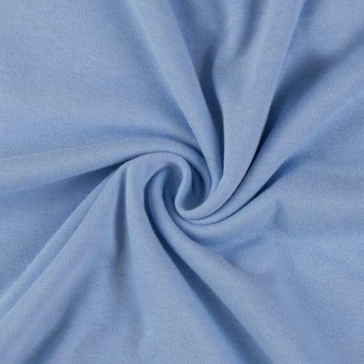 Jersey prostěradlo jednolůžko 90x200cm světle modré
