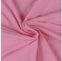 Jersey prostěradlo jednolůžko 90x200cm světle růžové