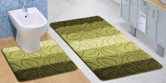 Koupelnová a WC předložka lípa zelená
