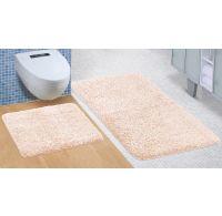 Koupelnová a WC předložka Micro béžová