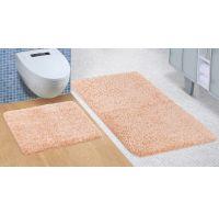 Koupelnová a WC předložka Micro lososová