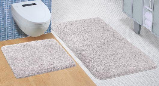 Koupelnová a WC předložka Micro šedá