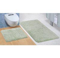 Koupelnová a WC předložka Micro zelená
