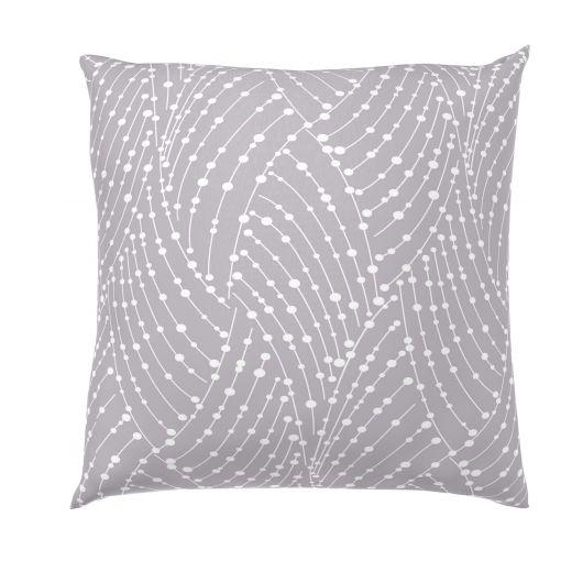 Povlak na polštář bavlna NORDIC COLLECTION - ASTRA šedá