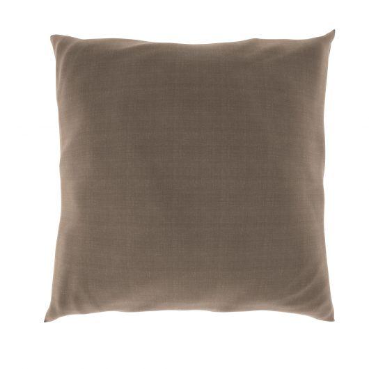 Povlak na polštář hladká bavlna BÉŽOVÝ MELÍR
