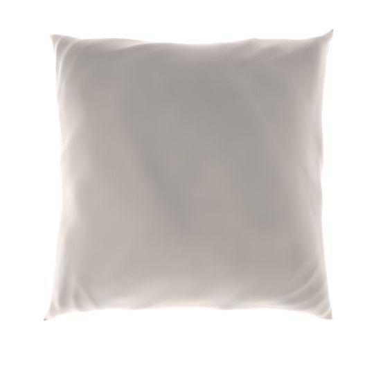Povlak na polštář hladká bavlna BÍLÝ