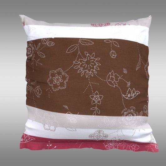 Povlak na polštář hladká bavlna CARMEN