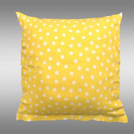 Povlak na polštář hladká bavlna CRESSIDA puntík