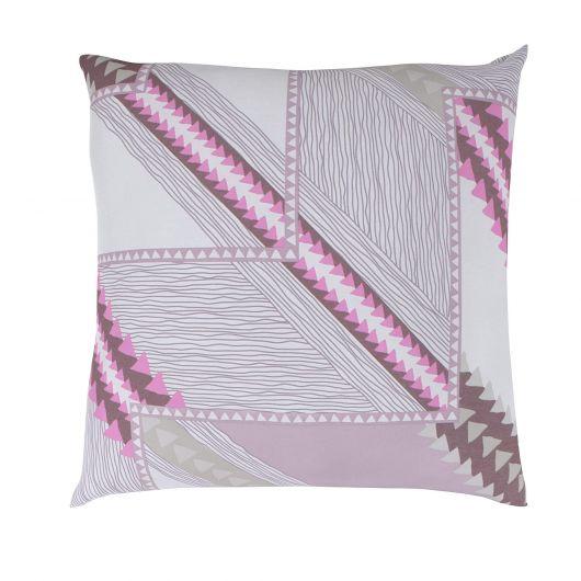 Povlak na polštář hladká bavlna DELUX AZUR fialové