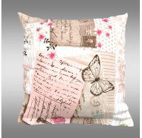 Povlak na polštář hladká bavlna DELUX LOVE LETTER