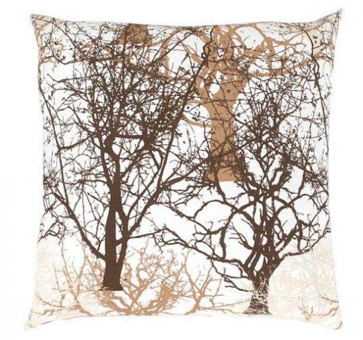 Povlak na polštář hladká bavlna DELUX TREES
