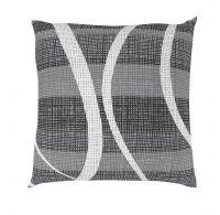 Povlak na polštář hladká bavlna DELUX VALERY šedé