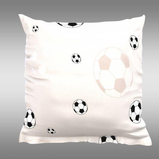 Povlak na polštář hladká bavlna FOTBAL