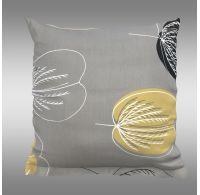 Povlak na polštář hladká bavlna GRACE šedá