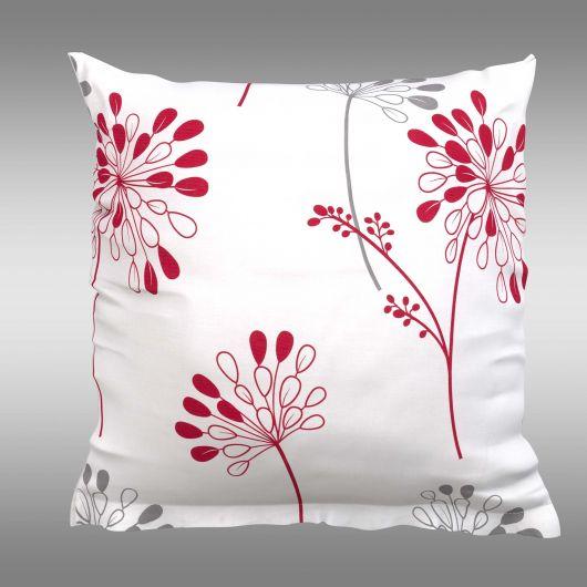 Povlak na polštář hladká bavlna ISABELLA dekor