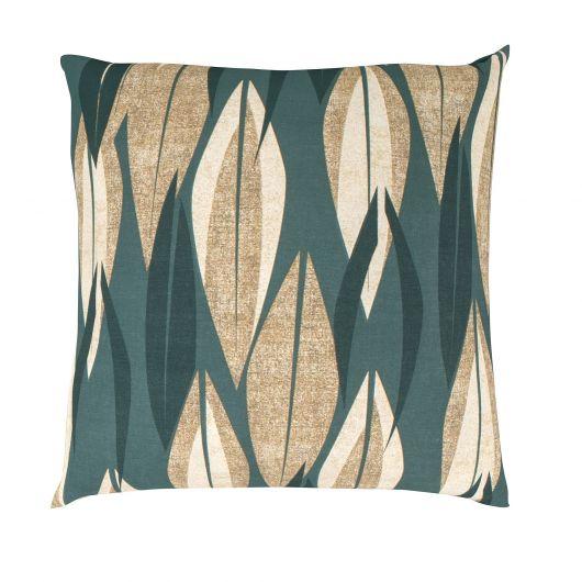 Povlak na polštář hladká bavlna KIARA zelená