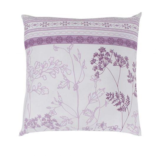 Povlak na polštář hladká bavlna LAVENDA fialová