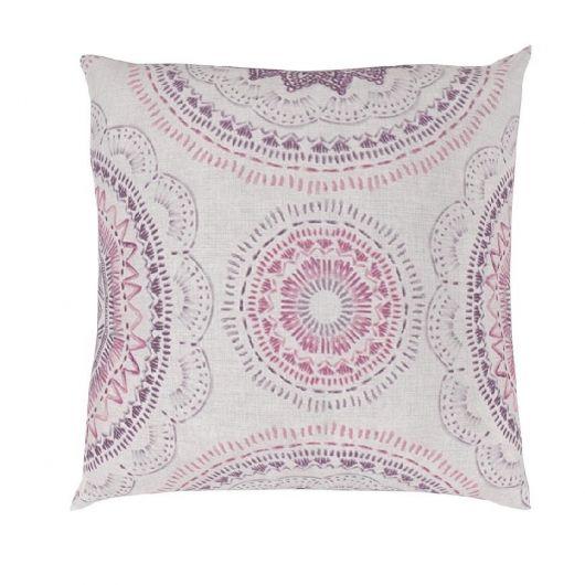 Povlak na polštář hladká bavlna MANILA fialová