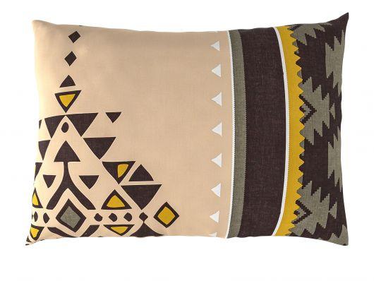 Povlak na polštář hladká bavlna MENDIS béžové