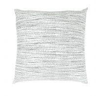 Povlak na polštář hladká bavlna MIST šedé reverse