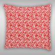 Povlak na polštář hladká bavlna PROVENCE - Daisy červená