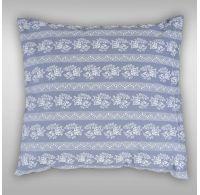 Povlak na polštář hladká bavlna PROVENCE - Eleonora šedá