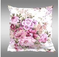 Povlak na polštář hladká bavlna PROVENCE - Ester růžová