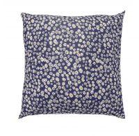 Povlak na polštář hladká bavlna PROVENCE SEDMIKRÁSKA modrá