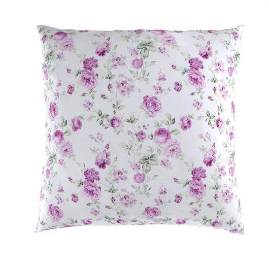 Povlak na polštář hladká bavlna PROVENCE VIENTO růžové