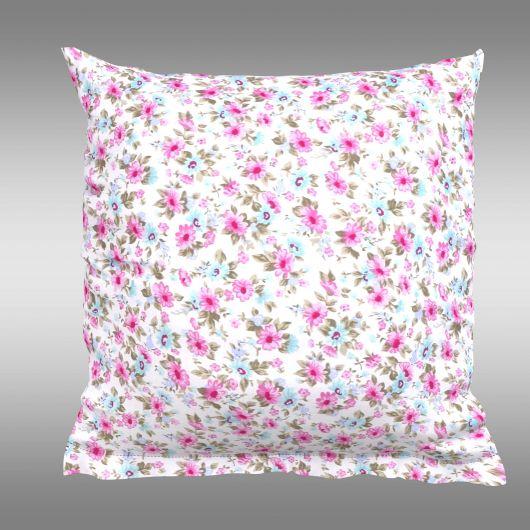 Povlak na polštář hladká bavlna PROVENCE - Žaneta růžová