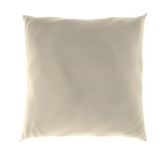 Povlak na polštář hladká bavlna SMETANOVÝ