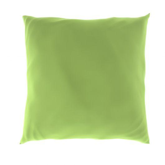 Povlak na polštář hladká bavlna SVĚTLE ZELENÝ
