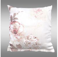 Povlak na polštář hladká bavlna TANEA růžová