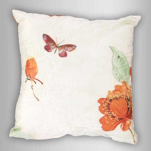 Povlak na polštář saténový Butterfly Dream