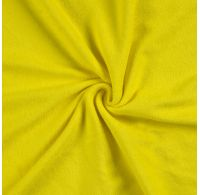 Prostěradlo bavlněné napínací 180x200cm žluté
