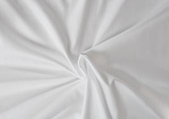 Prostěradlo dvojlůžkové napínací Atlas hladký 180x200cm bílé