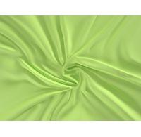 Saténové prostěradlo LUXURY COLLECTION 100x200cm světle zelené