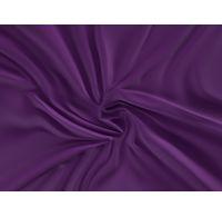 Saténové prostěradlo LUXURY COLLECTION 100x200cm tmavě fialové