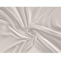 Saténové prostěradlo LUXURY COLLECTION 120x200cm bílé