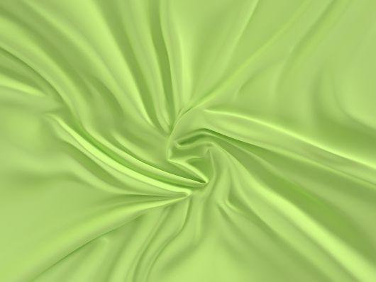 Saténové prostěradlo LUXURY COLLECTION 120x200cm světle zelené