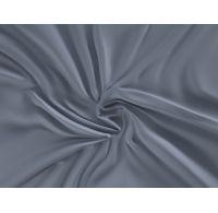 Saténové prostěradlo LUXURY COLLECTION 120x200cm tmavě šedé