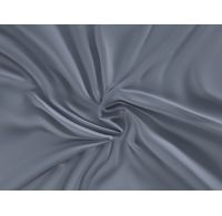 Saténové prostěradlo LUXURY COLLECTION 160x200cm tmavě šedé