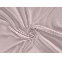 Saténové prostěradlo LUXURY COLLECTION 180x200cm LOOP béžové